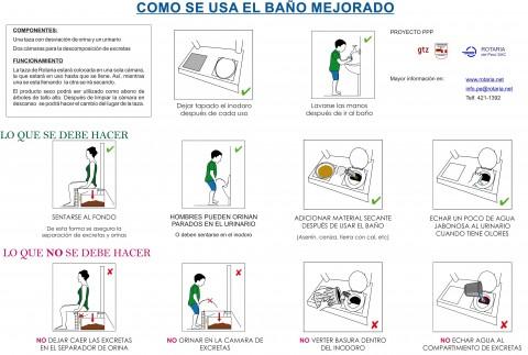 Como se usa el bano mejorado in spanish resources susana - Como limpiar bien el bano ...