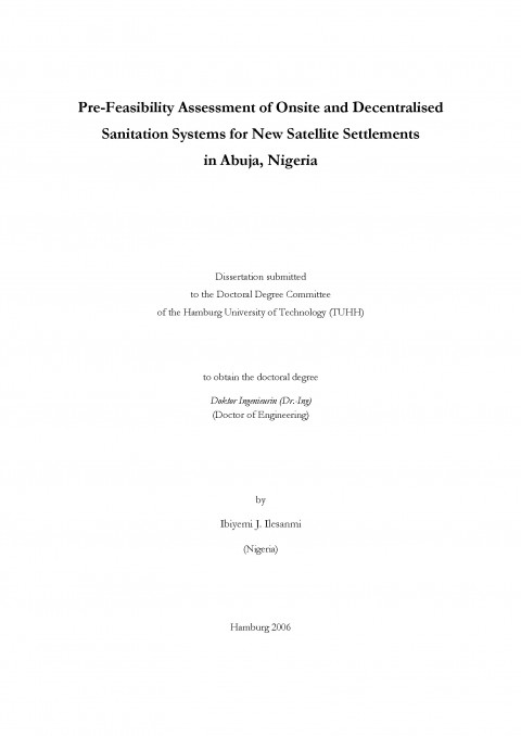 """thesis on water supply in nigeria Ii this report """"a water supply and sanitation study of the village of gouansolo in mali, west africa,"""" is hereby approved in partial fulfillment of the requirements for the degree."""