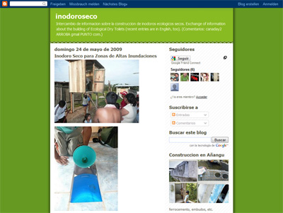Inodoroseco blog - experiences from El Salvador