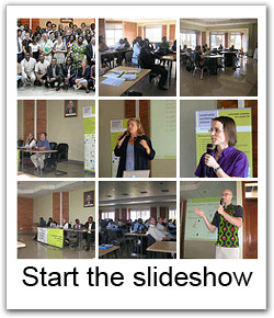 Photos of the 13th SuSanA meeting in Kigali. Slide show in a new window.