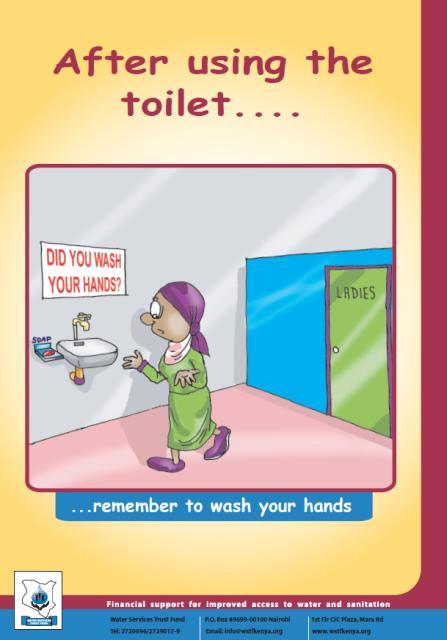how to use ladies toilet