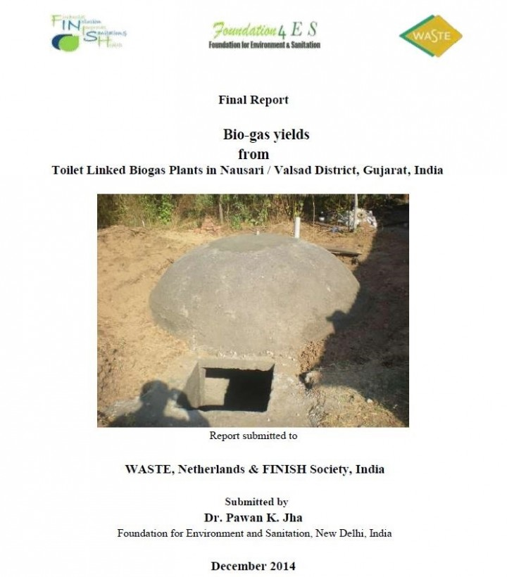 Bio-gas yields from Toilet Linked Biogas Plants in Nausari