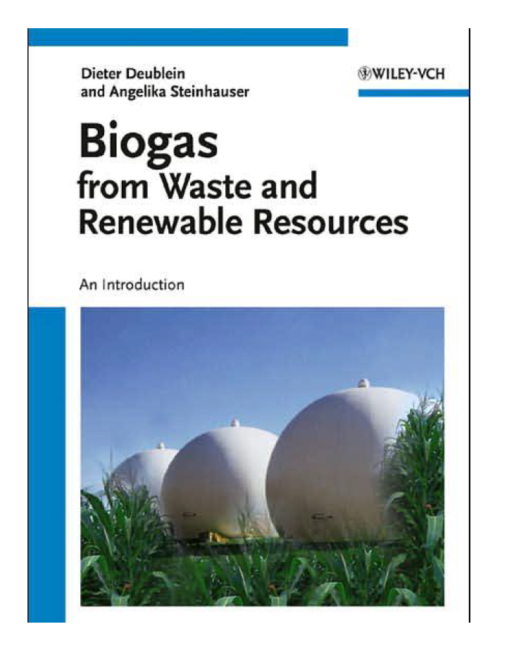 Biogas from Waste and Renewable Resources - Resources • SuSanA