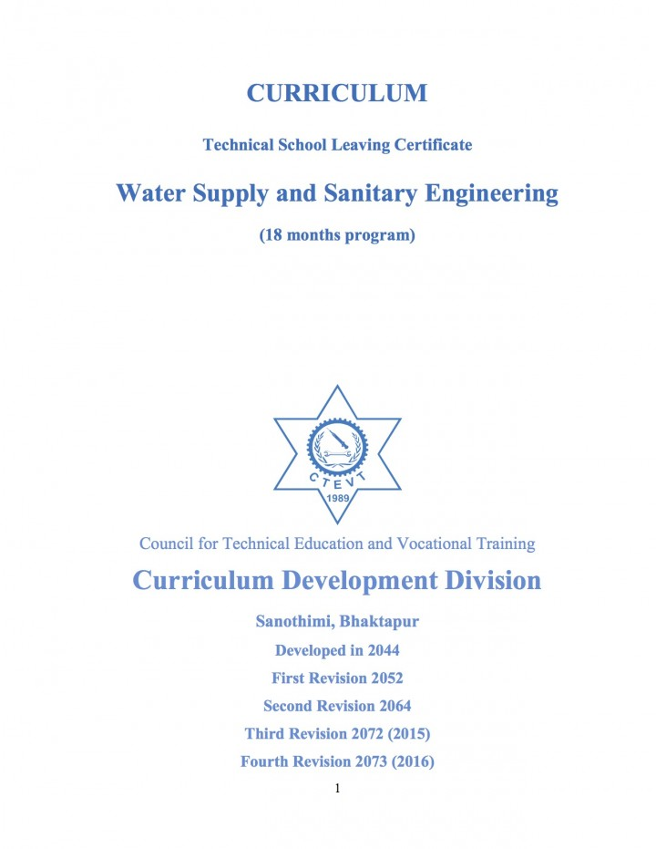 Curriculum Technical School Leaving Certificate Resources Susana