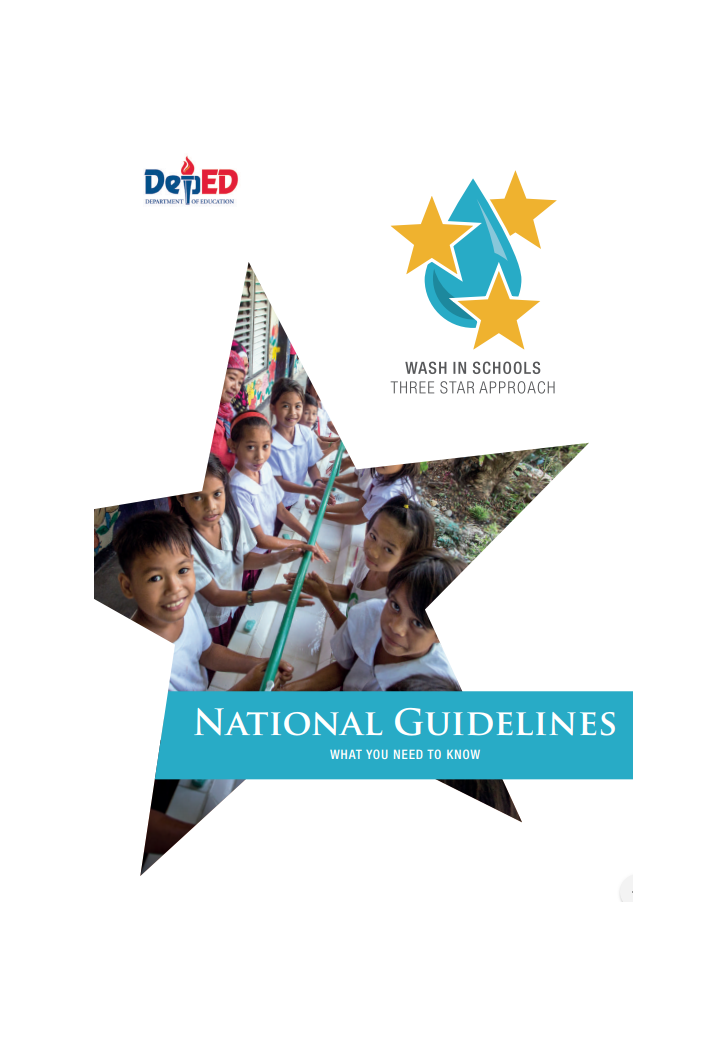 DepED Philippines National Guidelines for WASH in Schools