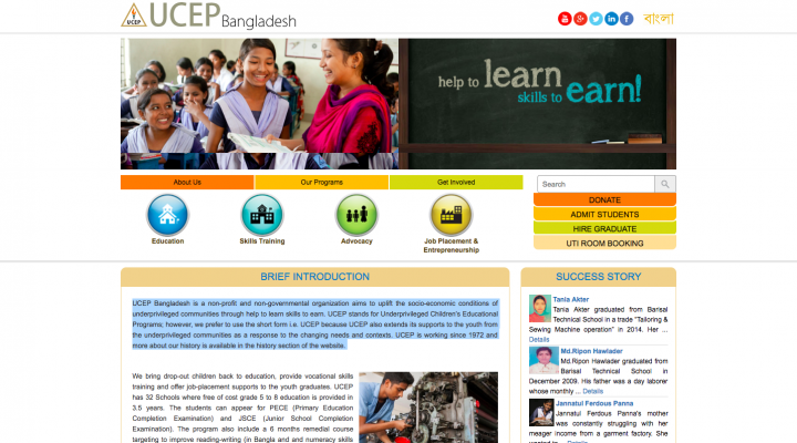 UCEP TVET (Technical and Vocational Education and Training